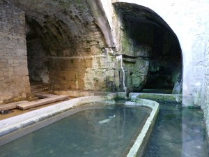 21..The old underground Baths on the walk in Dole