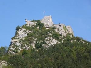 6..Hilltop fort in Salins les Bains.