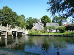 Bridge House at Flatford Mill